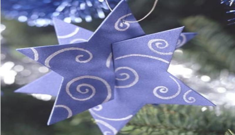 Como hacer una estrella navideña en 3D