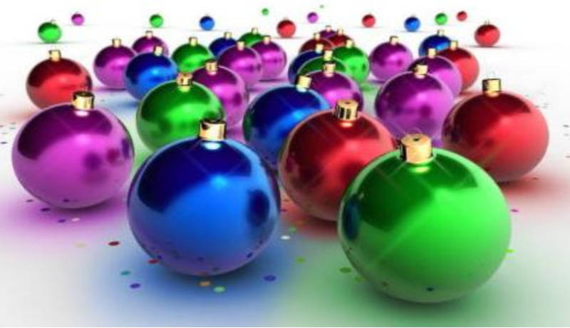 Bolas para el árbol de Navidad creadas por ti
