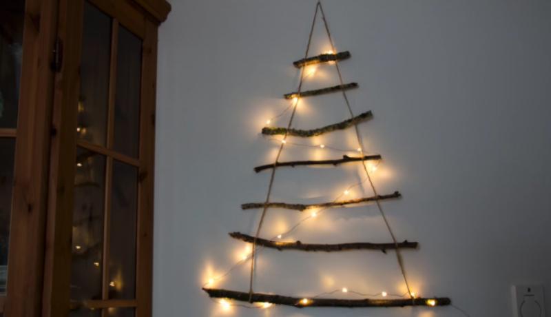 Crea un árbol de Navidad diferente