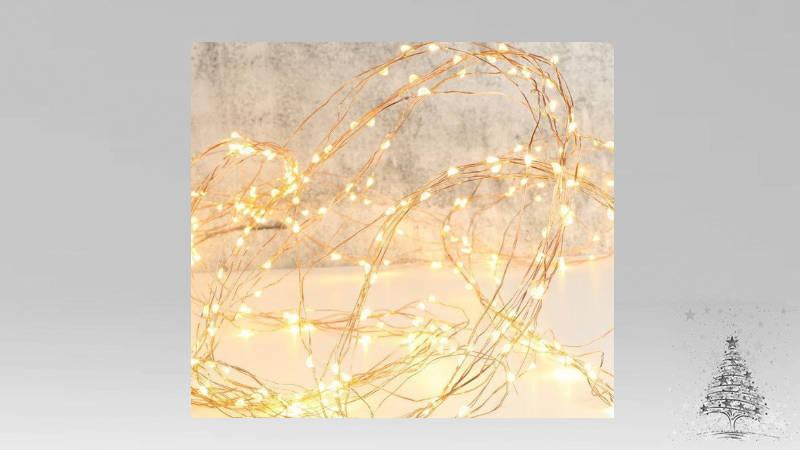 Como hacer espectacular decoración con las luces de Navidad