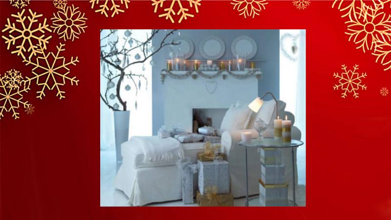 Decora tu Navidad con dorado y blanco… ¡se verá elegantísimo!