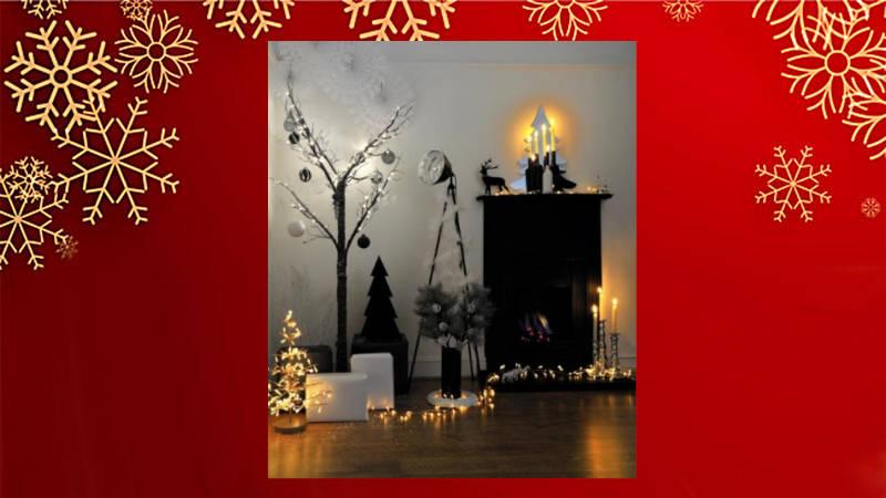 ¡Atrévete!… decora tu Navidad de negro. ¡Te sorprenderás!