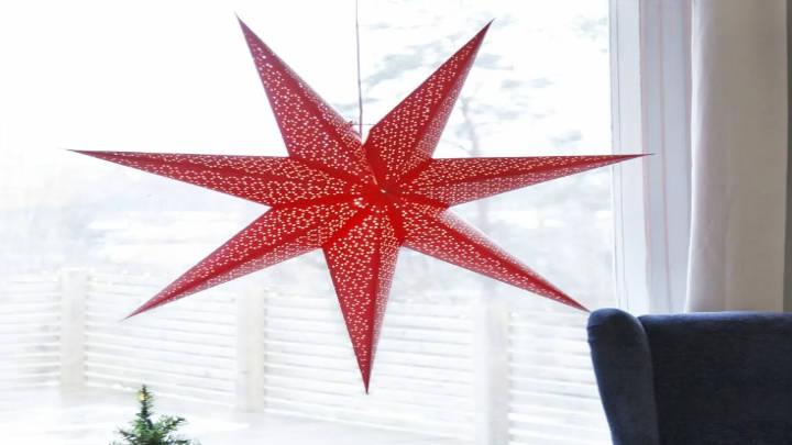 Las estrellas de Adviento y Navidad invaden el ambiente