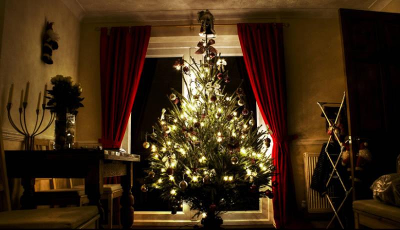 Donde colocar el árbol de Navidad