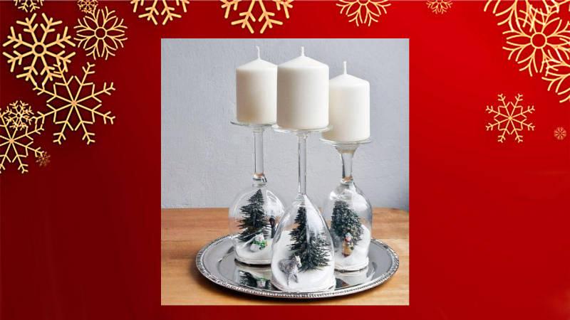 Copas de candelabro