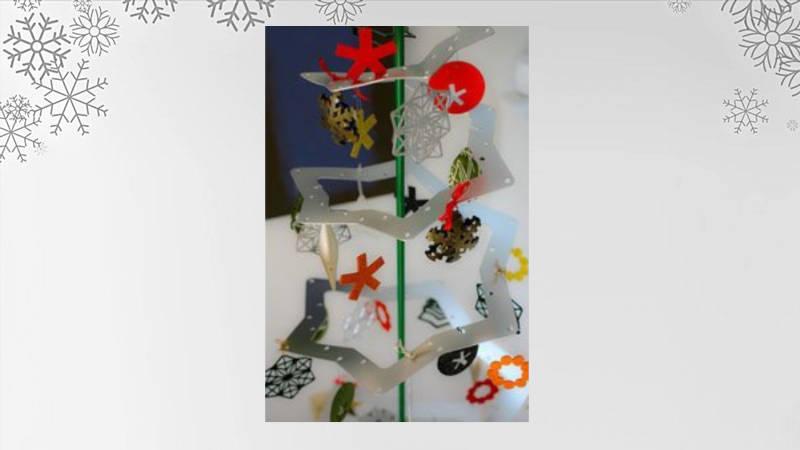 Six Pointer Star Holiday Tree minimalista